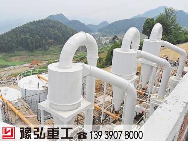 贵州大型雷蒙磨生产线实景图